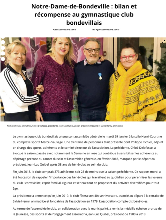 ARTICLE PARIS NORMANDIE - 01.02.19